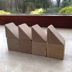 Bouwen met kubus en halve kubus. 5.