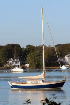 Sailboat - Frances 26 by Morris Yachts and Victoria Yachts designed by Chuck Paine