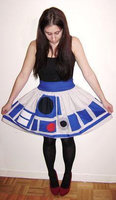 Une jupe R2D2