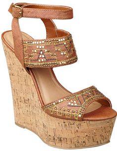 #NineWest                 #Women #Shoes             #measurements #sandal #heel #ankle #platform #closure #cork                   BEVINTAGE                 Beaded platform sandal on a cork wedge.. Adjustable ankle buckle closure. Measurements: heel 6 and platform 2.                    http://pin.seapai.com/NineWest/Women/Shoes/1129/buy