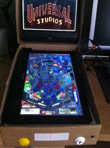 Cardboard Visual Pinball model.