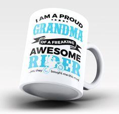 Proud Grandma of An Awesome Motocross Rider - Mug