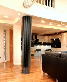 Open plan living room / kitchen heating - Jaga Iguana