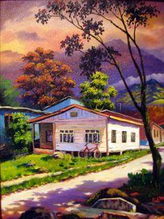 Manuel Rubi pintor Costa Rica