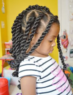 Looking for some inspiration when it comes to styling your little one's natural hair? Check out these protective style ideas.