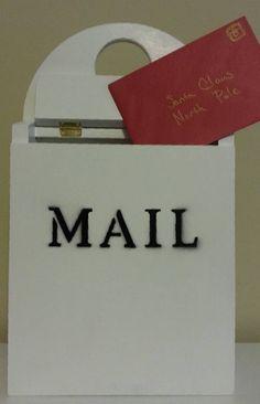Mailbox, Wooden Mailbox, Wooden Toy, Wooden Mail Box, Christmas Toys, Christmas…
