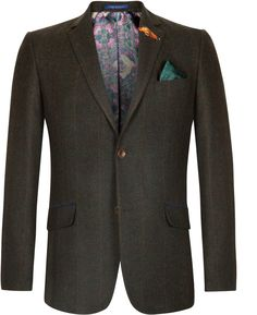 Ted Baker blazer green