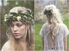 Ethereal Hair and headpiece