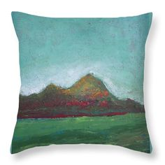 Poppy Hills Throw Pillow for Sale by Vesna Antic Pillow Sale, Poplin Fabric, Landscape Paintings, Gift Guide, Poppies, Cushions, America, Throw Pillows, Artists