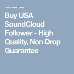 Buy USA SoundCloud Follower - High Quality, Non Drop Guarantee Followers, Promotion, Drop, Usa, Stuff To Buy, Fans, Fandom, U.s. States
