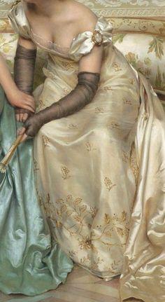 Joseph Frederic Charles Soulacroix - Secrets – detail