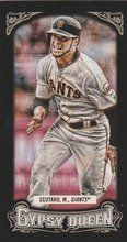 2014 Gypsy Queen Black Mini #252 Marco Scutaro San Francisco Giants 137/199