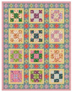 """Playfully colored carrots, peas and radishes may even encourage the rarely heard words, """"I LOVE vegetables!"""" Digging in the dirt has never been cuter and this Garden quilt will certainly inspire every little gardener in your life! The Garden Quilt is perfect to enjoy anywhere."""