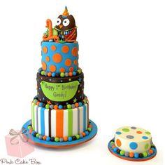 Owl boy cake.