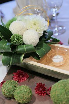 和2-2 Deco Floral, Arte Floral, Flower Decorations, Table Decorations, Flower Arrangements, Wedding Flowers, Centerpieces, Bouquet, Japanese