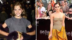 As Emma Watson shoots for her roles in 'Perks of Being a Wallflower' and 'Bling Ring,'  a look back to the beginning of her stardom in 2001