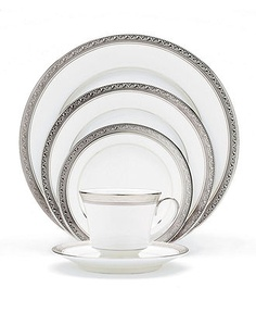 Noritake Dinnerware, Crestwood Platinum Collection... One day when we have a house and can host the holidays...