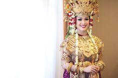 Pernikahan Adat Palembang di Jakarta