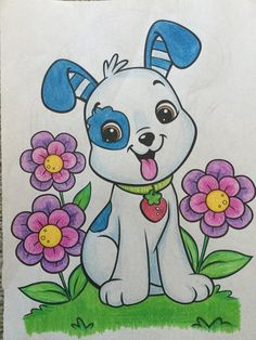 Pencil Art Drawings, Art Drawings Sketches, Cartoon Drawings, Cute Drawings, Nature Drawing For Kids, Easy Drawings For Kids, Color Art Lessons, Art Lessons For Kids, Art Painting Gallery