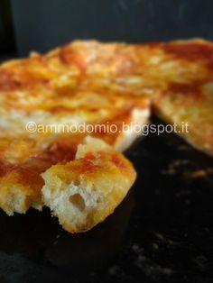 impasto pizza con acqua di governo delle mozzarelle