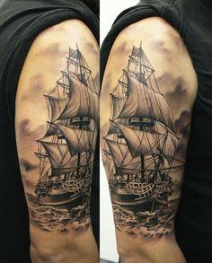 Velero tattoos tattoos, ship tattoo sleeves и pirate ship ta Tattoos 3d, Body Art Tattoos, Tattoos For Guys, Temporary Tattoos, White Tattoos, Ankle Tattoos, Arrow Tattoos, Small Tattoos, Small Tattoo Designs