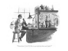 size: Premium Giclee Print: John Ruge Art Print by John Ruge : Entertainment Framed Artwork, Framed Prints, Canvas Prints, Art Prints, New Yorker Cartoons, Tag Image, The New Yorker, Find Art, Fine Art America