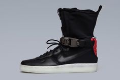 Here Are the Most Detailed Shots of the ACRONYM x Nike AF1 Dowtown Hi SP. Air  Force 1Nike ...