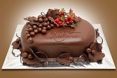 from { { FeedTitle} }{ { EntryUrl} } Chocolate Shop, Love Chocolate, Chocolate Desserts, Christmas Chocolate, Pumpkin Spice Cupcakes, Holiday Cakes, Pastry Cake, Love Cake, Creative Cakes