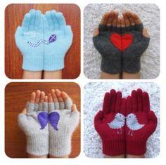 Re-vamped gloves
