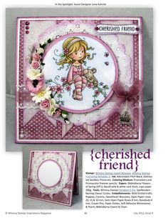 ISSUU - Whimsy Stamps Inspirations Magazine Issue 9 by Whimsy Stamps