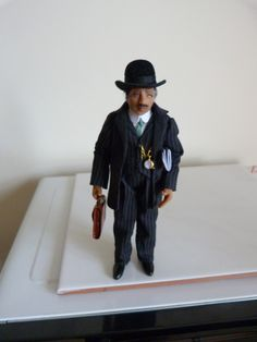 1/12th scale Edwardian businessman