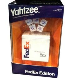 Create a custom version of the popular YAHTZEE® Game for corporate gifts, promotions and giveaways.