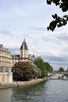 Ile de la Cité, Quai de l'horloge, Paris IV