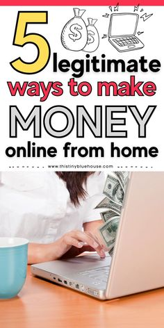 Are you looking to make money from home? Here are 5 legitimate ways to start earning money from home this year. These online money making opportunities are perfect for folks looking to boost their household income and make some extra money. Show Me The Money, Make Money From Home, Way To Make Money, Make Money Online, How To Make, Teach English To Kids, Teaching English Online, Online Job Opportunities, Household Income