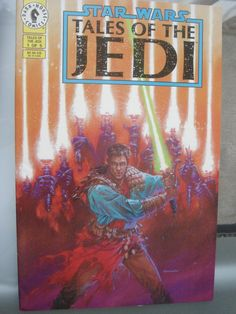 (RARE) Star Wars: Tales of The Jedi #1 Variant http://comicspriceguide.com/cpg-member/wavewarrior
