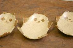 つぐみ製陶所 鉄絵パンダ小皿