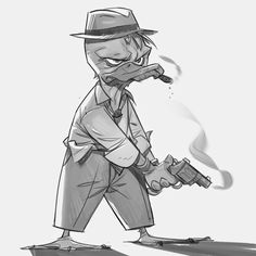P.Cohen Sketch Blog: Howard the Duck!