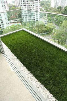 kunstgras balkon