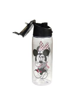 Disney Gazing Mickey Minnie Flip Top Water Bottle * Check out this great product.(It is Amazon affiliate link) #cool