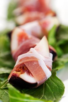 Prosciutto-Wrapped Figs #paleo