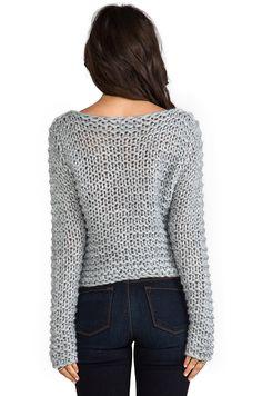 Cheap Monday Cher Sweater в цвете Серый меланж   REVOLVE