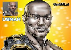 "8 Me gusta, 0 comentarios - Joyeishak Art ✍️📸🎥 (@joyeishak_art) en Instagram: ""UFC 251: KAMARU USMAN @usman84kg en Cyber Art #ufc #masvidal #mma #conormcgregor #natediaz #khabib…"" Kamaru Usman, Nate Diaz, Ufc, Cyber, Wallpaper, Instagram, Movies, Movie Posters, Make Art"