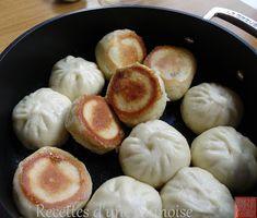 Recettes d'une Chinoise: Shui Jian bao / Sheng jian bao : steamed-fried bao...