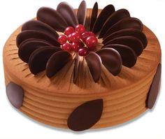 Belgium chocolate banana cake. Saint Honore Cake Shop.