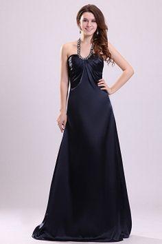 A-Line Blue Beading Graduation Dress Cheap Formal Dresses, Cheap Evening Dresses, Prom Dresses, Wedding Dresses, Cheap Graduation Dresses, Satin Bleu, Elastic Satin, Tea Length Wedding Dress, Plus Size Wedding