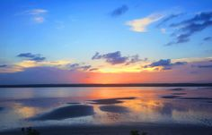 Sunset over the lagoon in Pomene Mozambique. [OC] -Please check the website for more pics Sky Photos, Brighten Your Day, High Quality Images, Oc, Earth, Sunset, Website, Places, Check