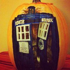 Tardis Pumpkin!