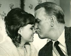 Sally Field and Don Porter in Gidget