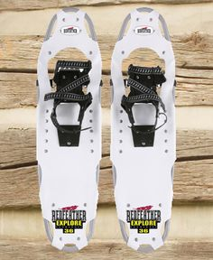 Snow shoes. We have this brand and they work really well.