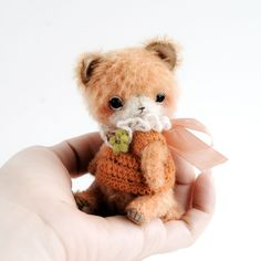 Artist teddy bears patterns PDF, DIY stuffed toys kits by TSminibears Bear Cubs, Panda Bear, Miniature Rabbits, Mohair Fabric, Soft Sculpture, Sculptures, Stuffed Toys Patterns, Craft Kits, Guinea Pigs